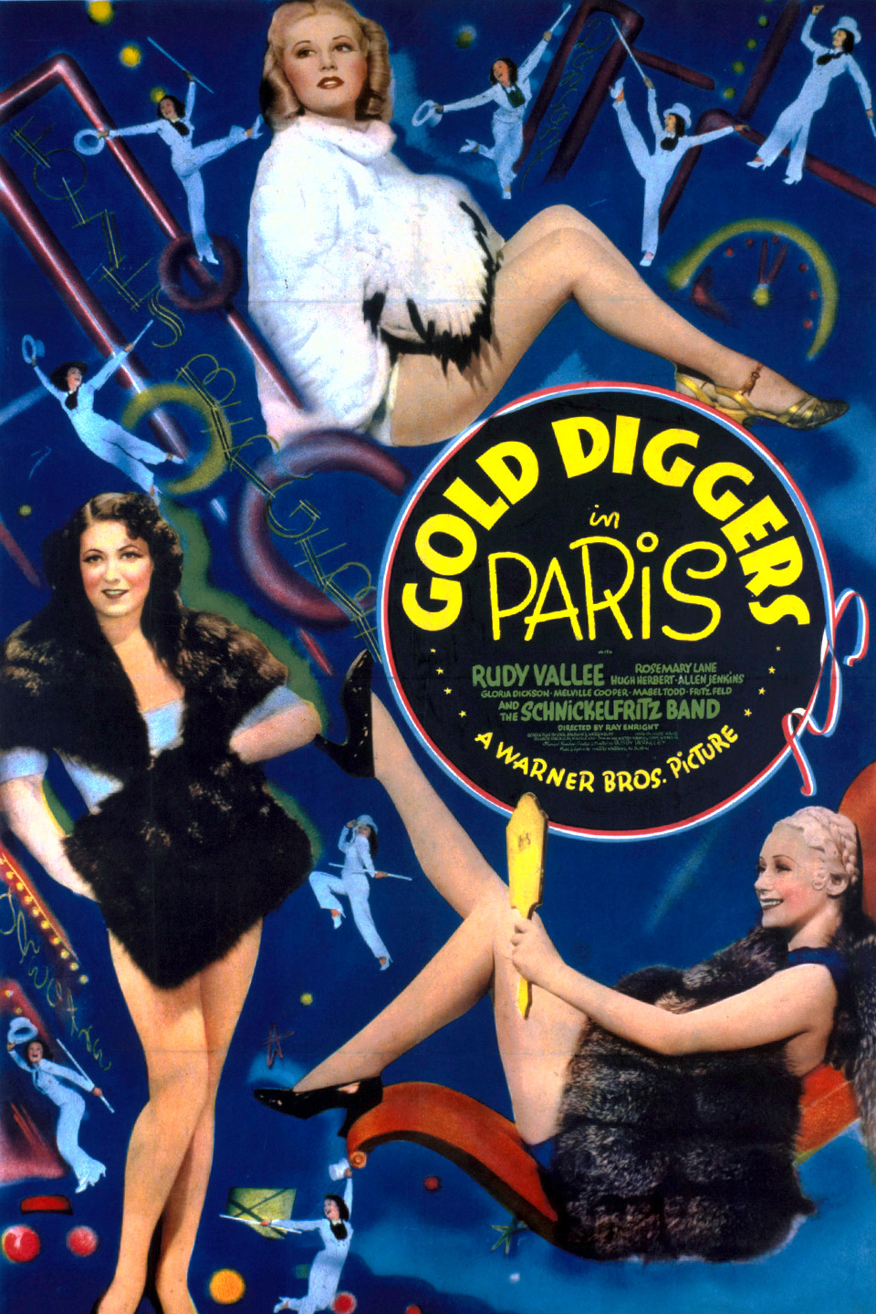Gold Diggers in Paris wwwgstaticcomtvthumbmovieposters9770p9770p