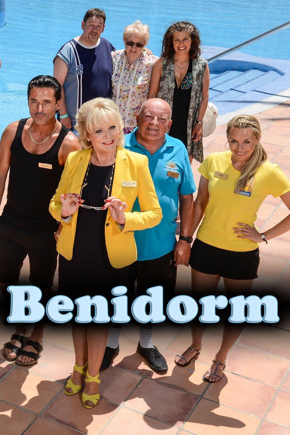 Benidorm tv series wedding