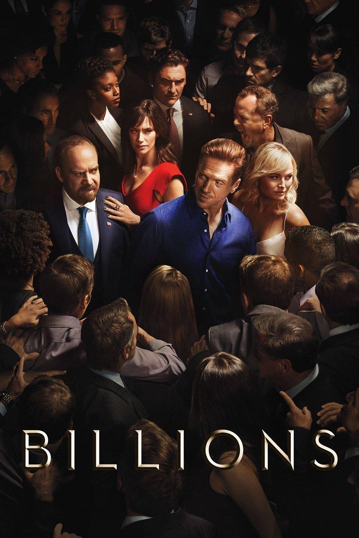 Billions – Condola Rashad, Damian Lewis, Maggie Siff, Malin Akerman, Paul Giamatti