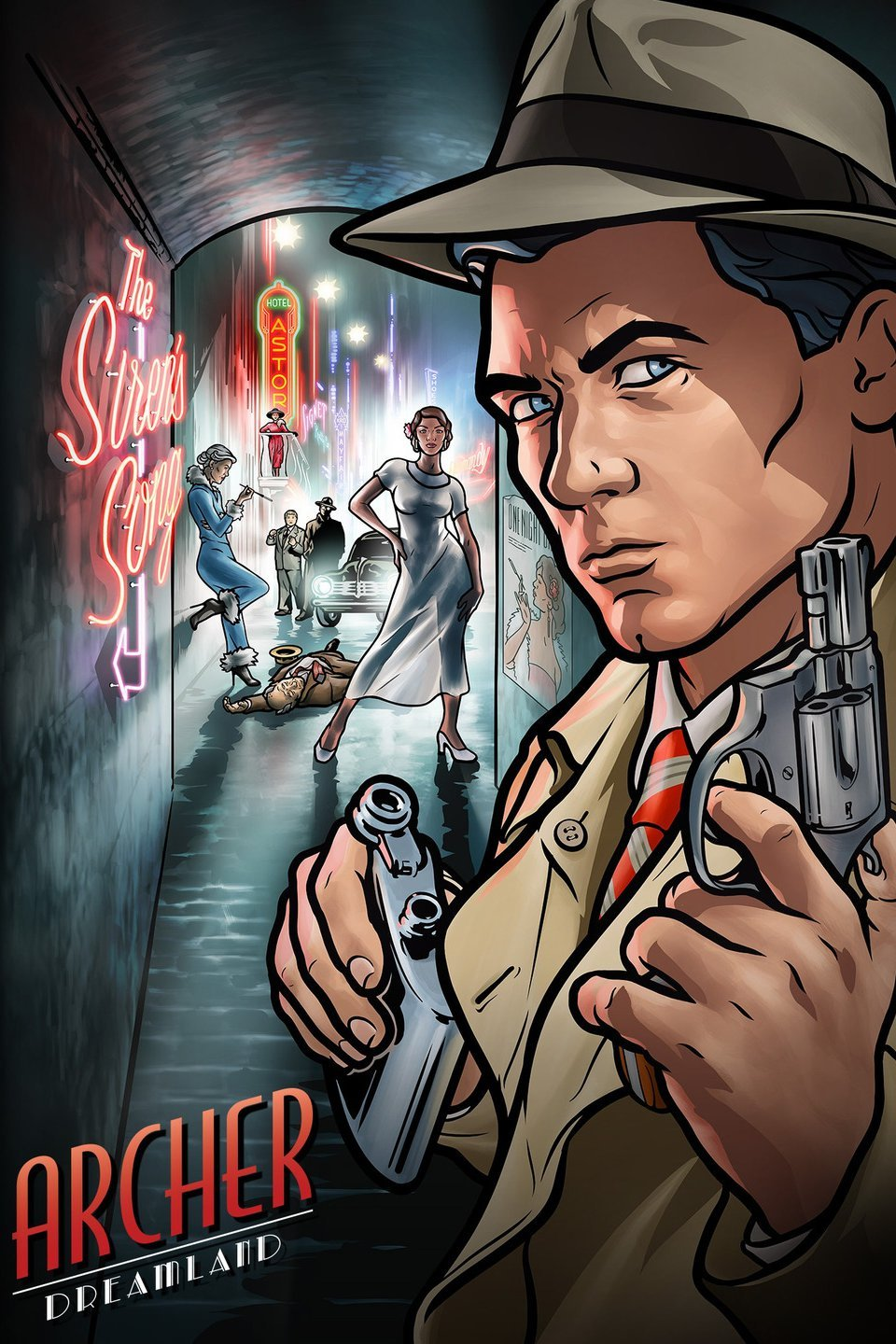Archer Season 8 Episode 3 480p WEB-DL 100MB