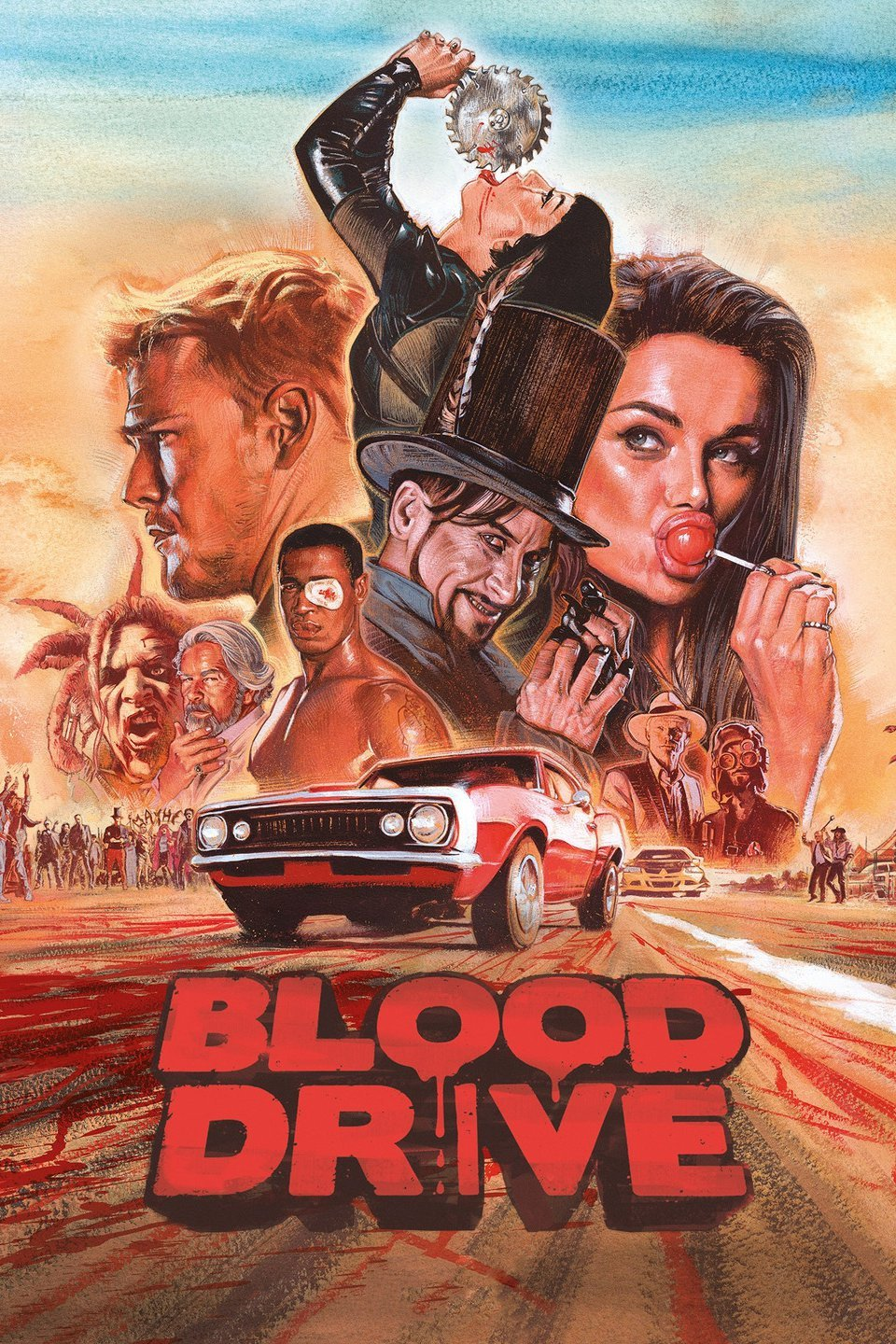Blood Drive Season 1 Episode 2 480p HDTV 200MB