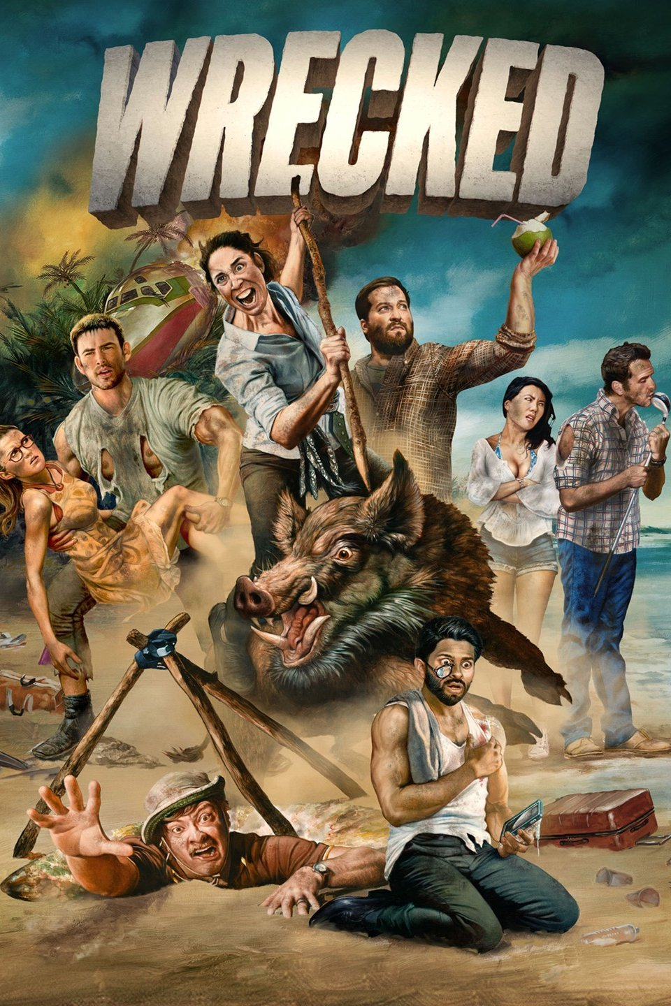 Wrecked Season 2 Episode 9 Download HDTV Micromkv
