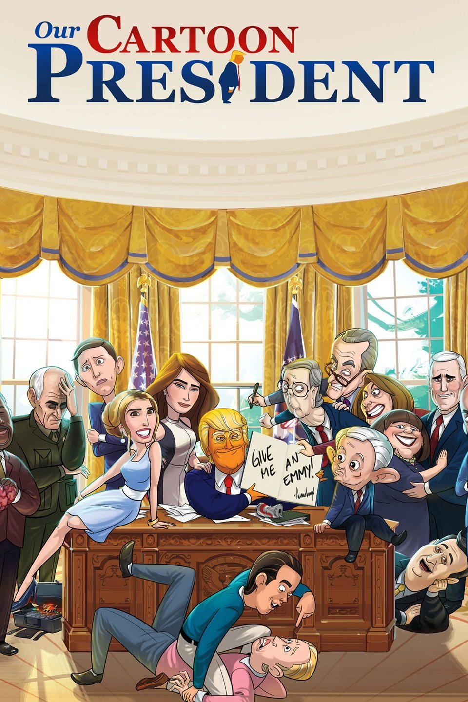 Our Cartoon President Season 1 Download HDTV (Episode 16 Added)