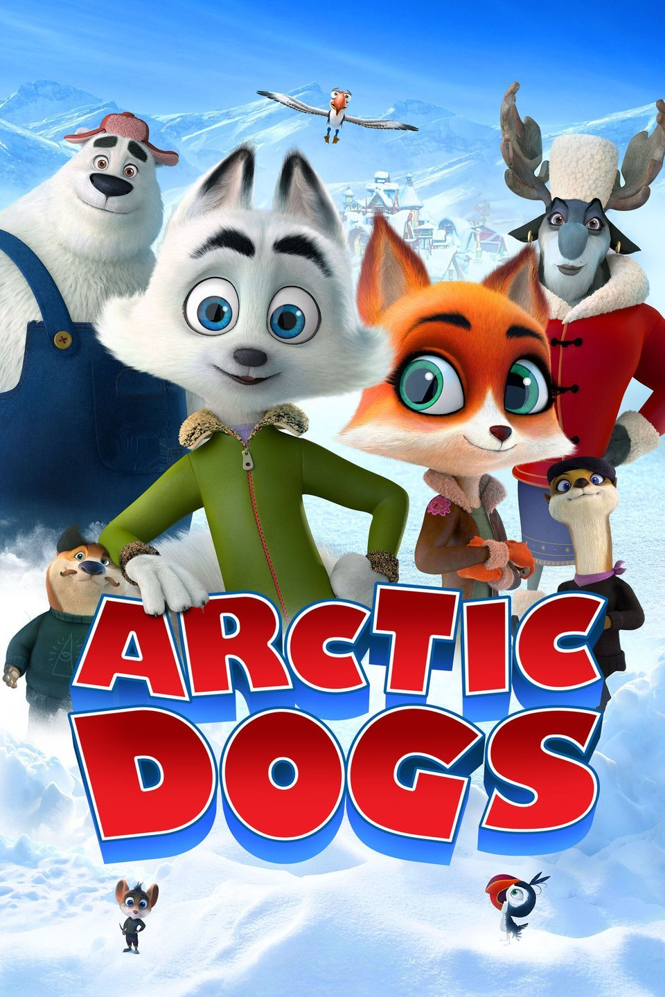 Image of Arctic Dogs movie cover