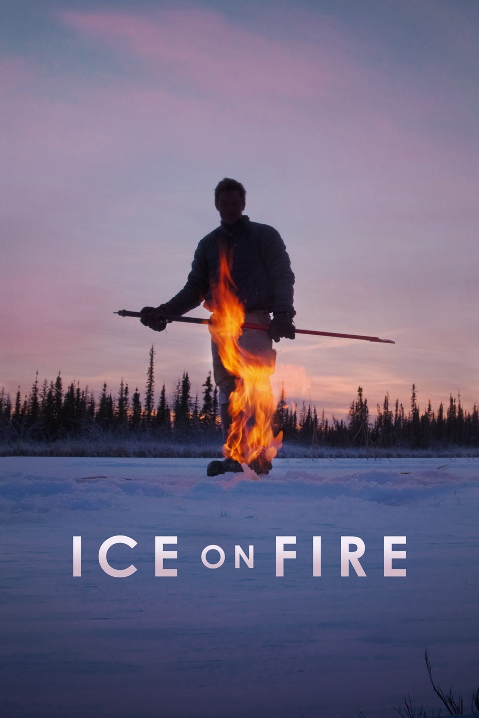 Movie Poster Ice on Fire
