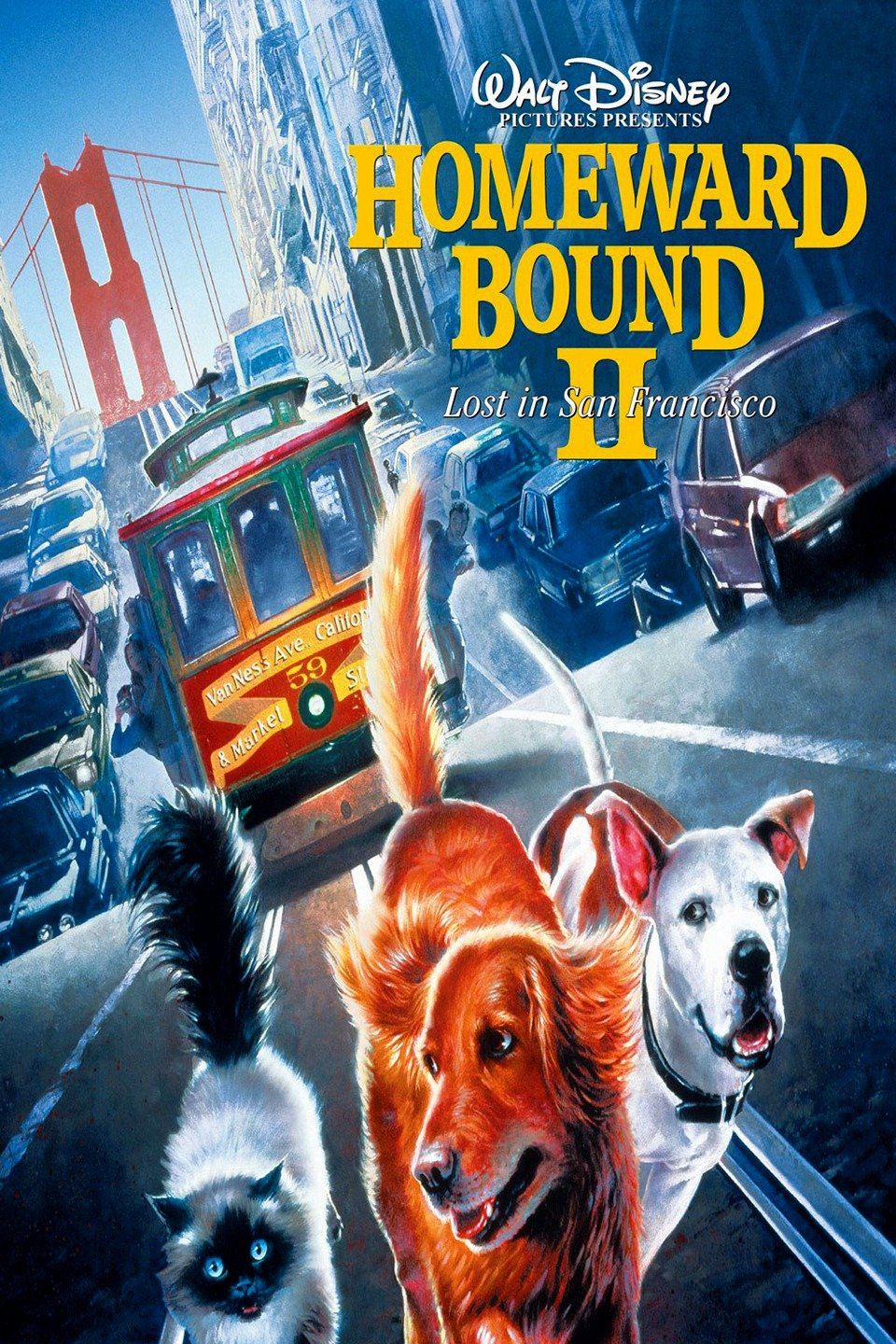Homeward Bound II: Lost in San Francisco 1996