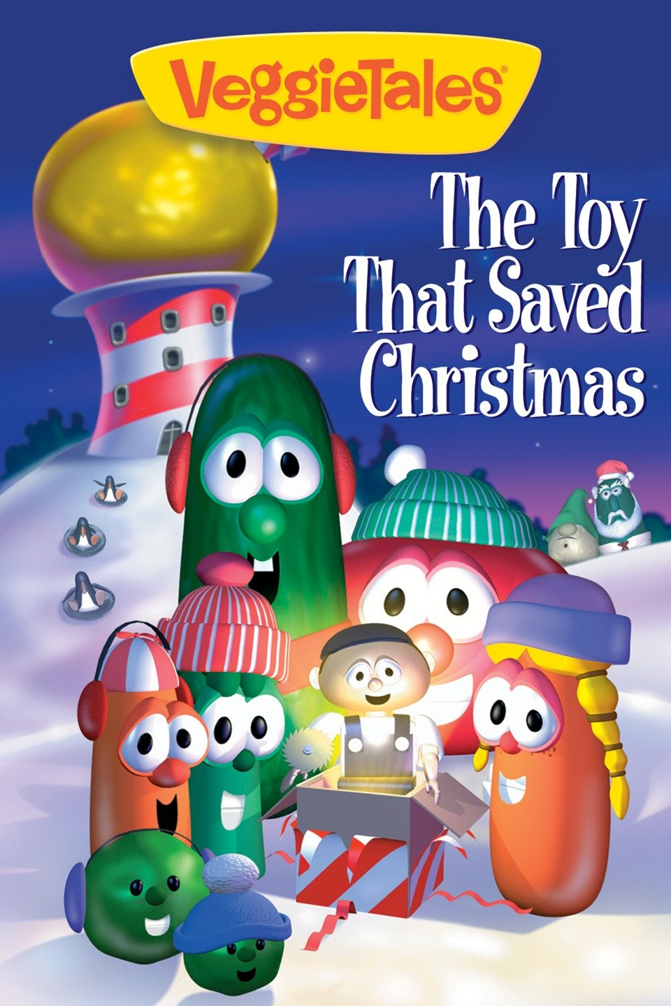 "Image result for VeggieTales movie ""The Toy That Saved Christmas."