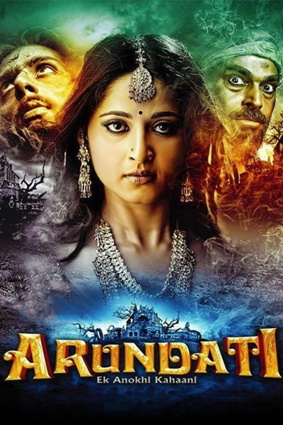 Arundhati (2009) Dual Audio Hindi 450MB BluRay 480p x264 ESubs