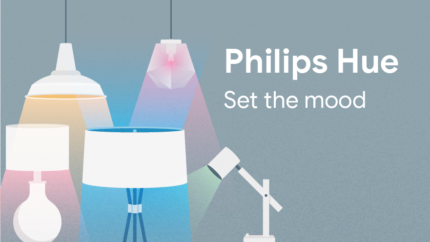 Philips Hue - Set the mood