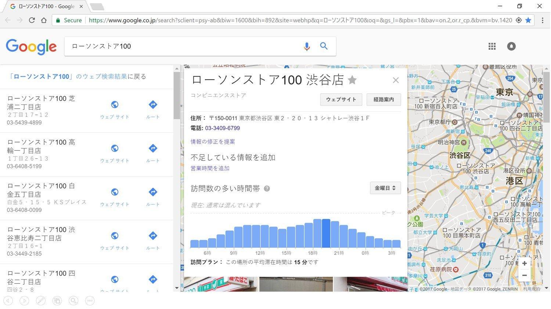 Googleマイビジネスによる店舗情報管理