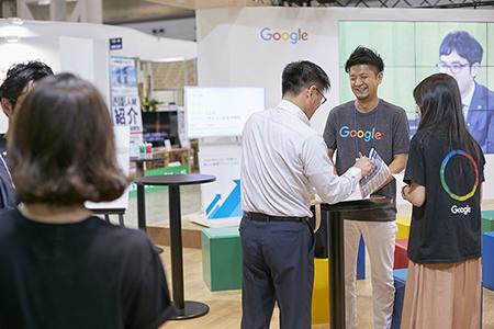 HR EXPO 2017 Googleブース