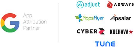 ユニバーサル アプリ キャンペーンのパートナーシップ サービス