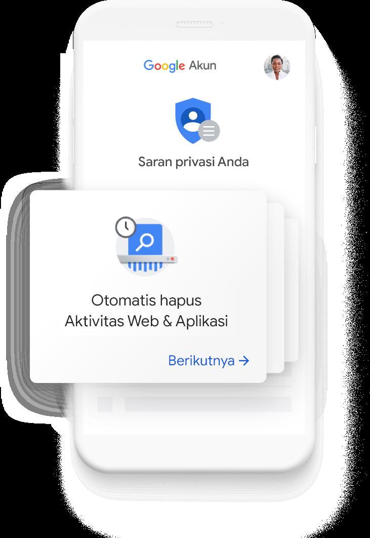 Lihat saran privasi yang dipersonalisasi untuk Anda