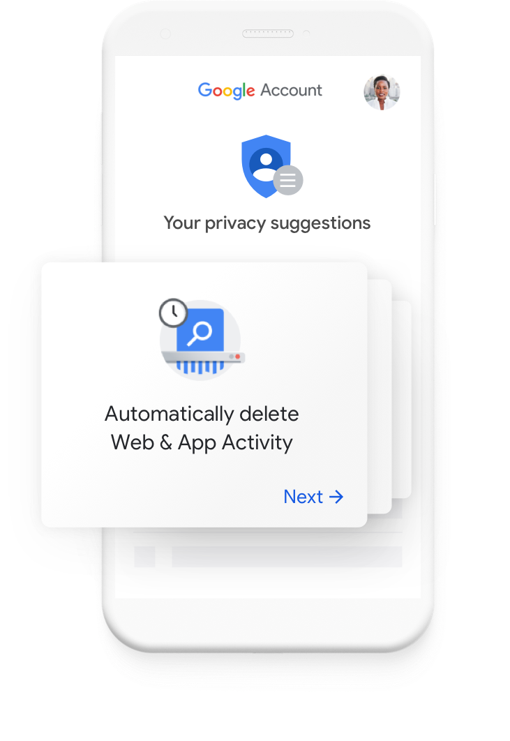 See your personalized privacy suggestions