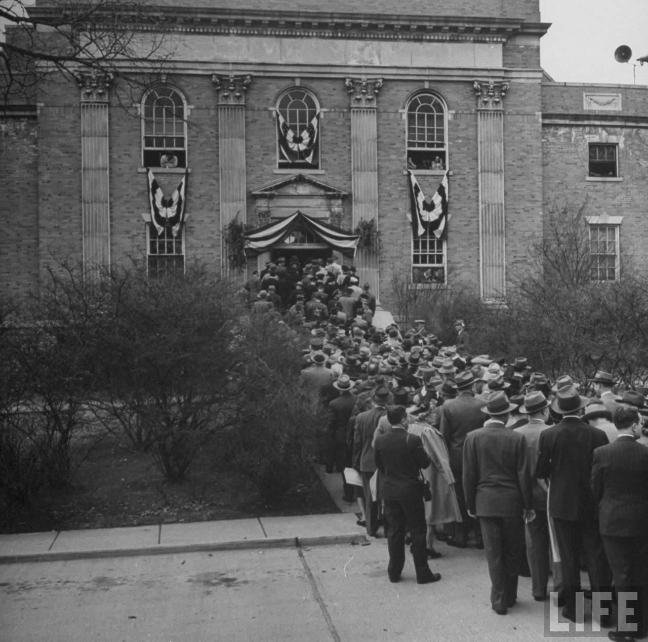 Old Photos Churchills Iron Curtain Speech