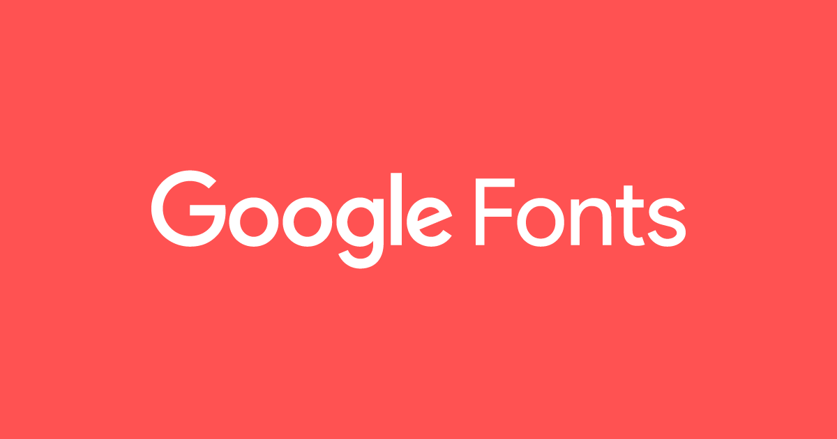 Early Access - Google Fonts