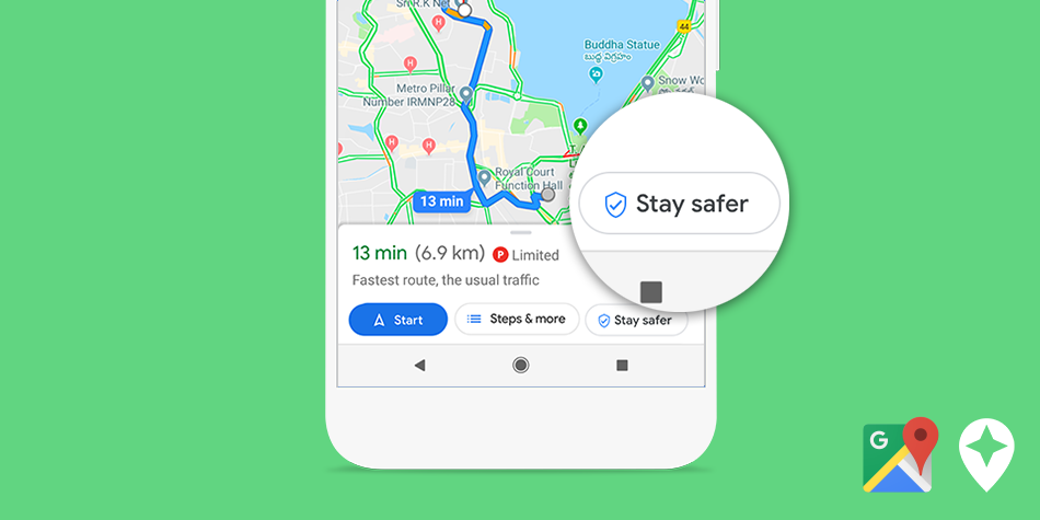 Stay safer on Maps - what do you think?