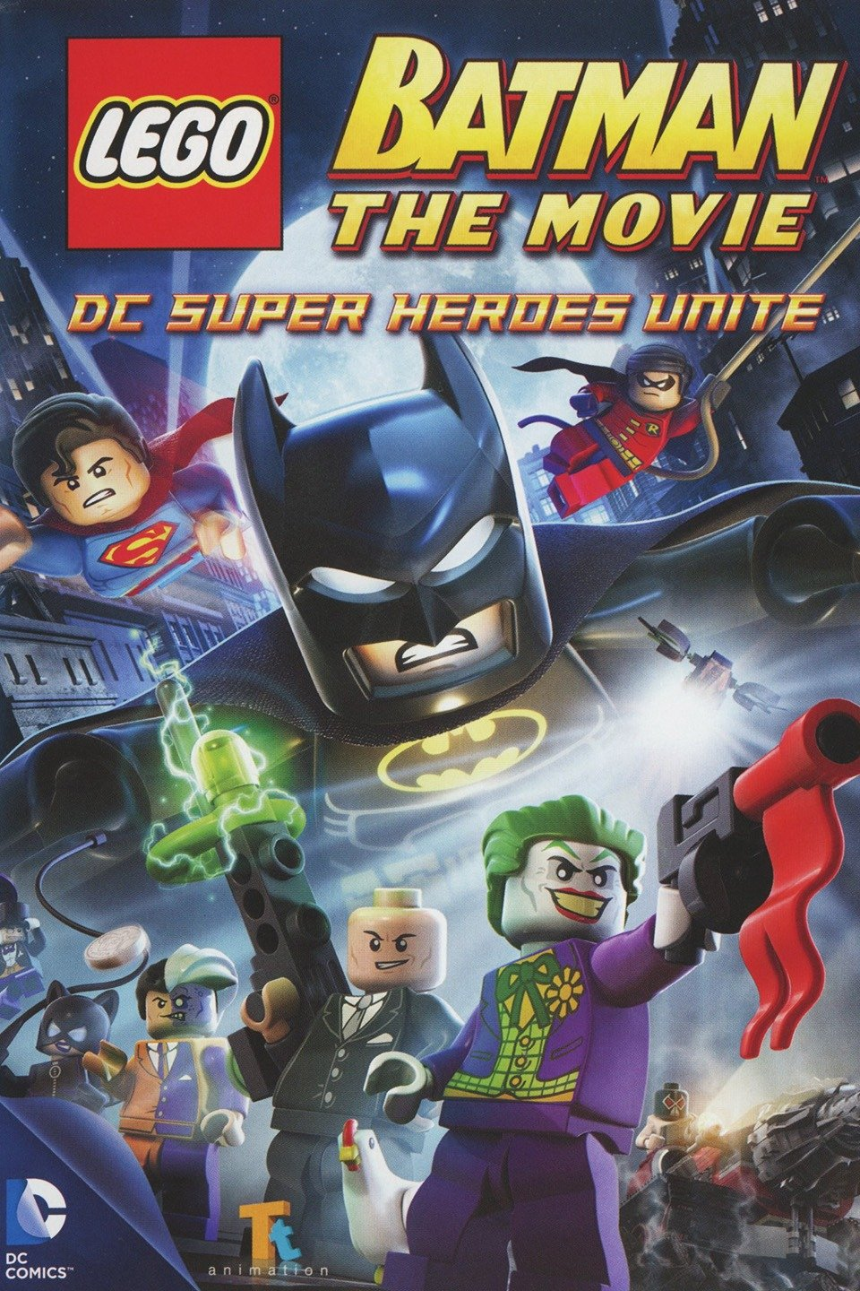Lego Batman: The Movie - DC Super Heroes Unite-Lego Batman: The Movie - DC Super Heroes Unite
