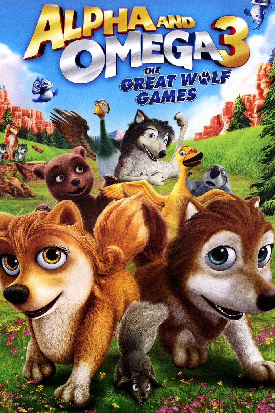 Alpha and Omega 3: The Great Wolf Games - Alpha and Omega 3: The Great Wolf Games (2014)