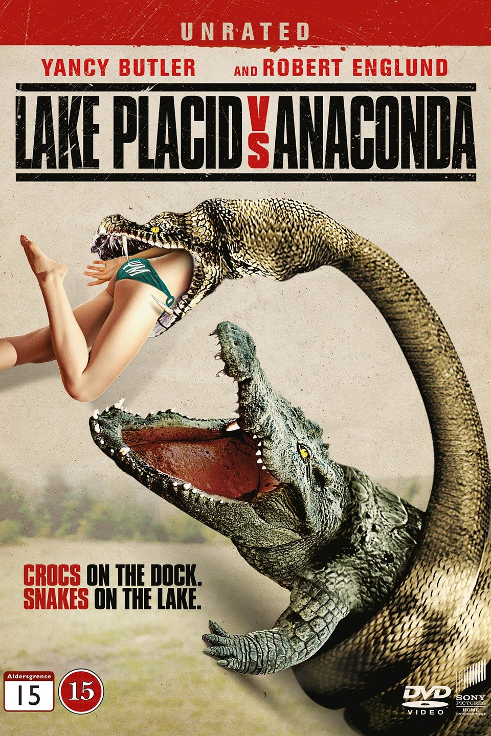 Lake Placid vs. Anaconda-Lake Placid vs. Anaconda