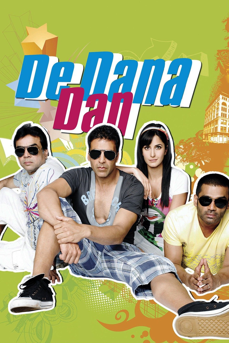 De Dana Dan 2009 DVDRip Hindi Full Movie HD Download 720p