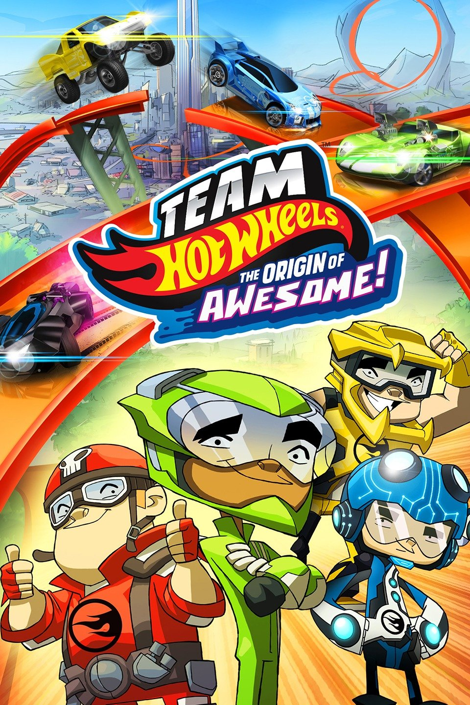 Team Hot Wheels: The Origin of Awesome!-Team Hot Wheels: The Origin of Awesome!
