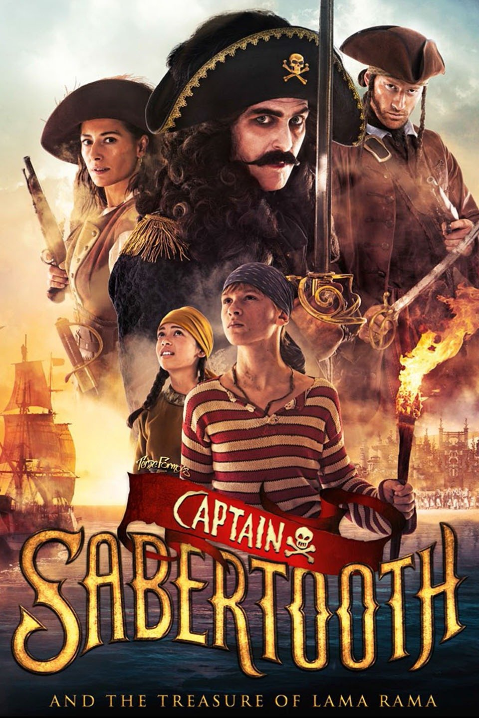 Captain Sabertooth and the Treasure of Lama Rama-Kaptein Sabeltann og skatten i Lama Rama