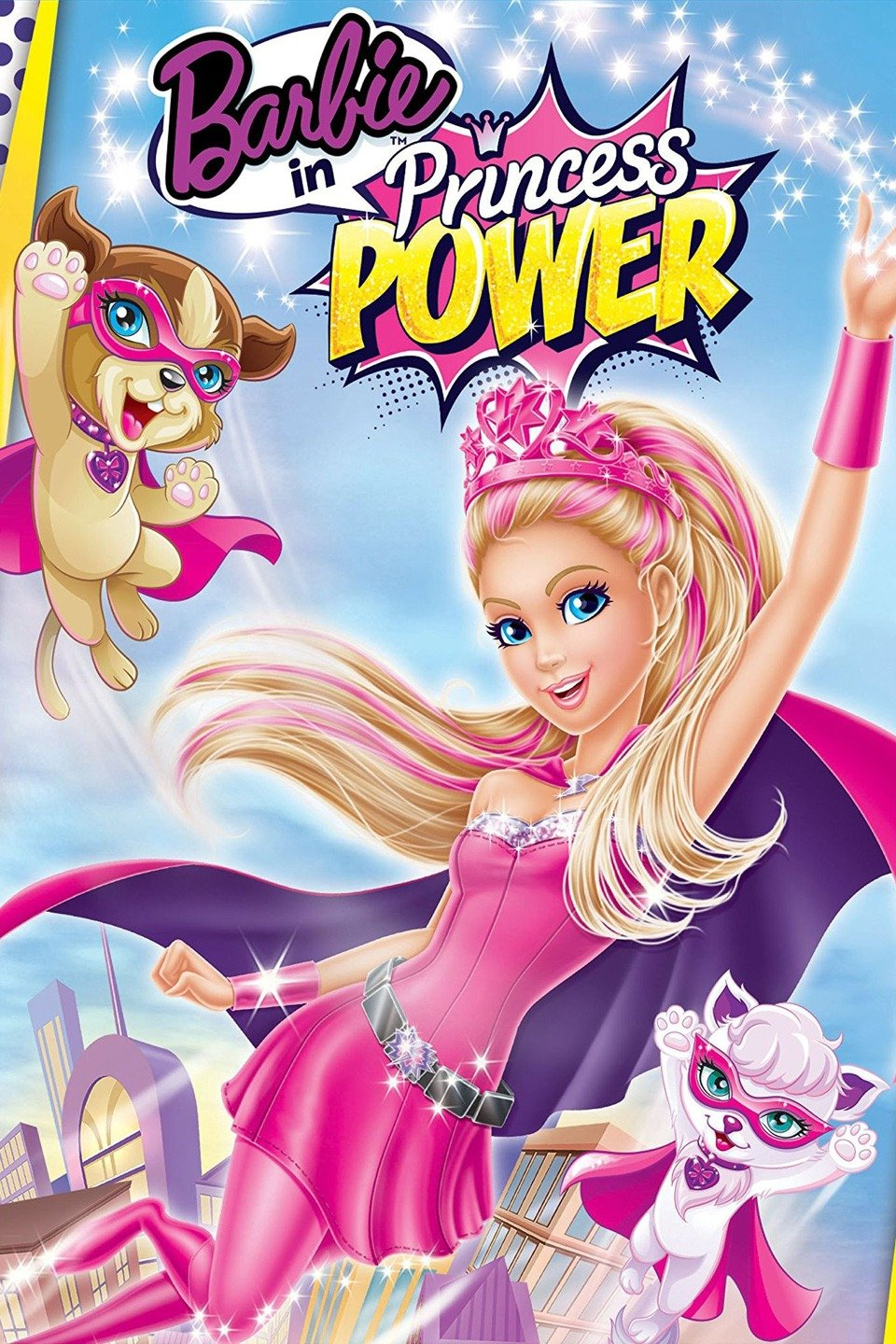 barbie princess power movie animation tv unplugged franchise