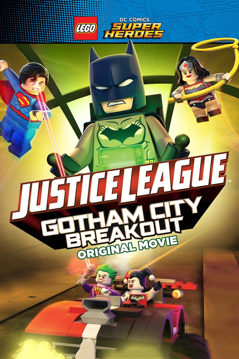 Lego DC Comics Superheroes: Justice League - Gotham City Breakout-Lego DC Comics Superheroes: Justice League - Gotham City Breakout
