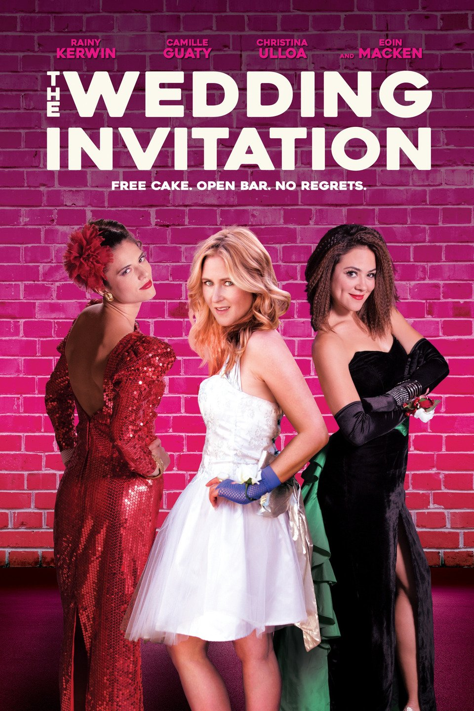 7b395aa106 A last minute invitation to an 80 s prom-themed wedding puts three best  friends in a desperate tailspin to land dates. Their mission