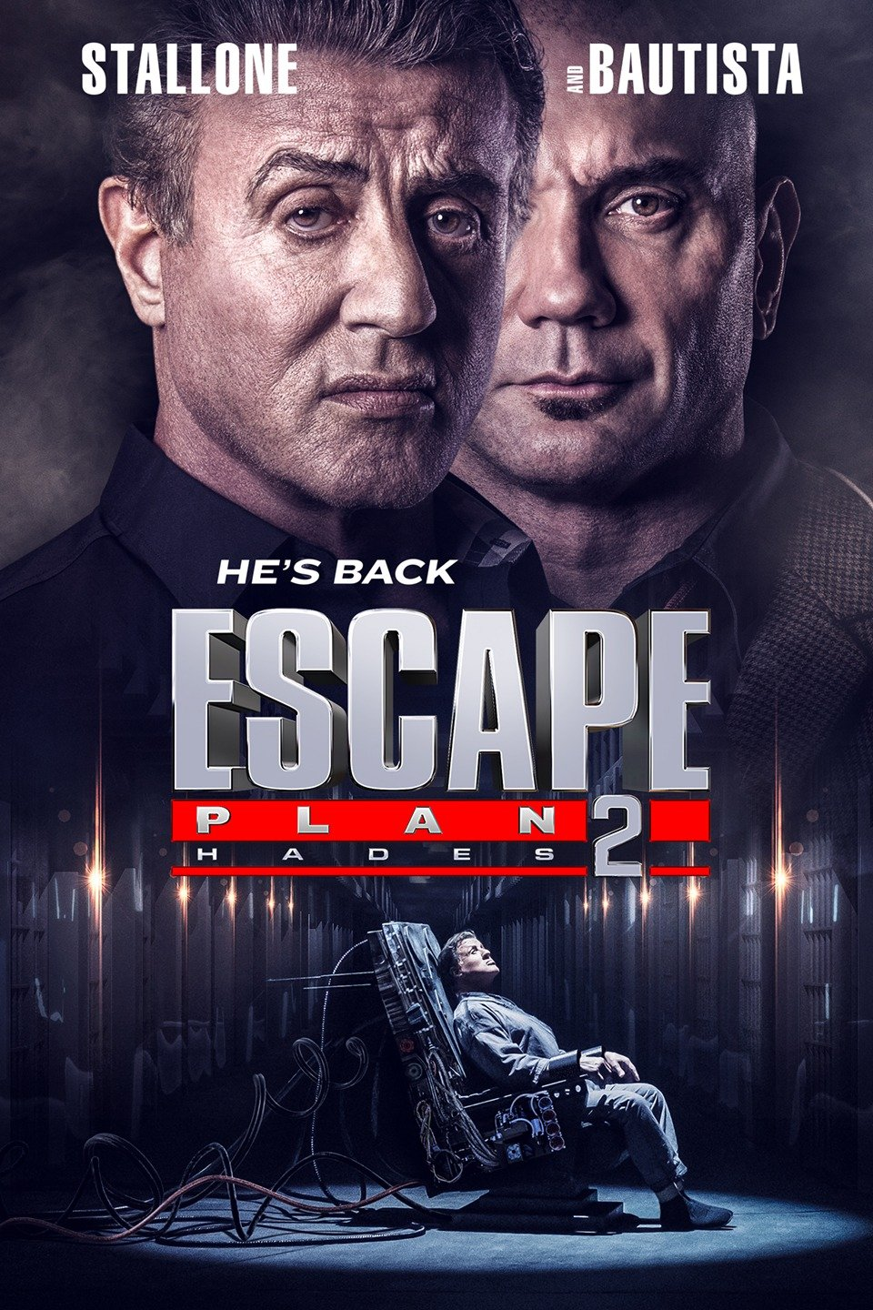 Escape Plan 2 Hades 2018 DvDRip Full Movie Download New Released
