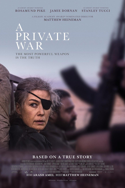 Private War 2019 Full Movie Download DVDRip 720p | G-Drive Link | Watch Online