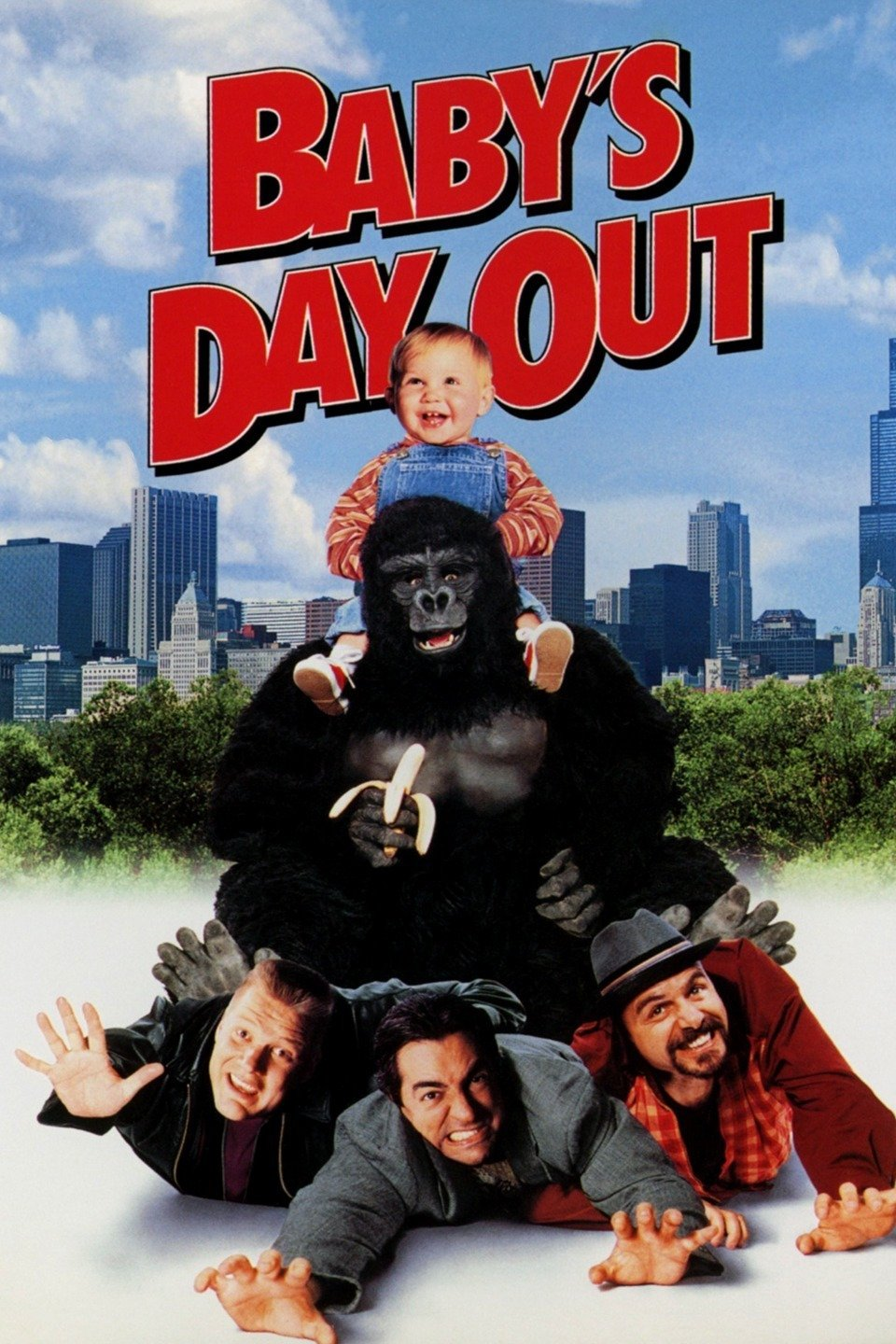 Baby's Day Out (1994) UNRATED [Dual-Audio] [Eng-Hindi] 1080p BRRip x264