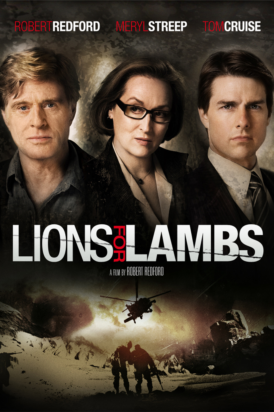 Lions for Lambs 2007 Hindi Dual Audio Movie Download HD 700MB