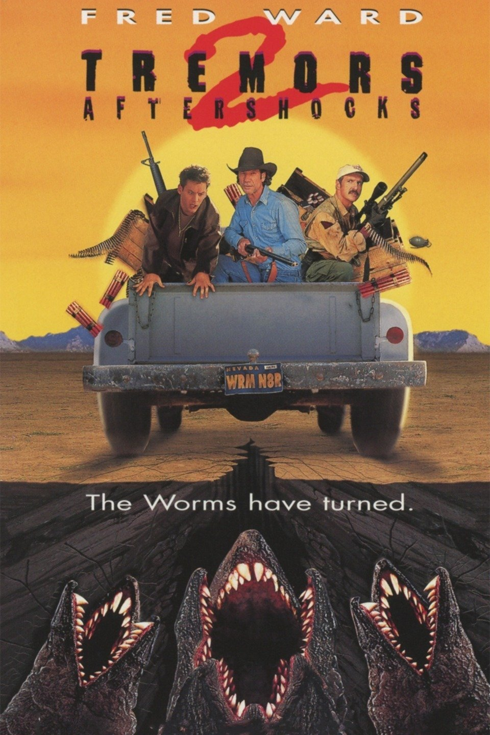 Tremors II: Aftershocks-Tremors II: Aftershocks
