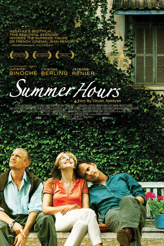 Summer Hours-L'heure d'été