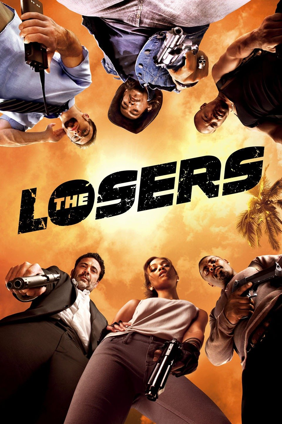 The Losers (2010) 720p BRRip Dual Audio [ HIN -ENG ] Eng Sub x264