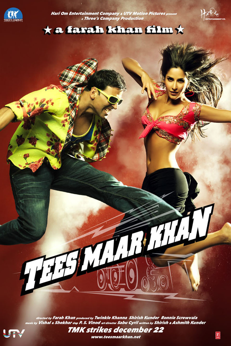 Tees Maar Khan 2010 Hindi Full Movie Download HDRip 480p 420MB, 720p 1.2GB