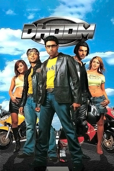 Dhoom 2004 Hindi Movie Free Download 720p BluRay