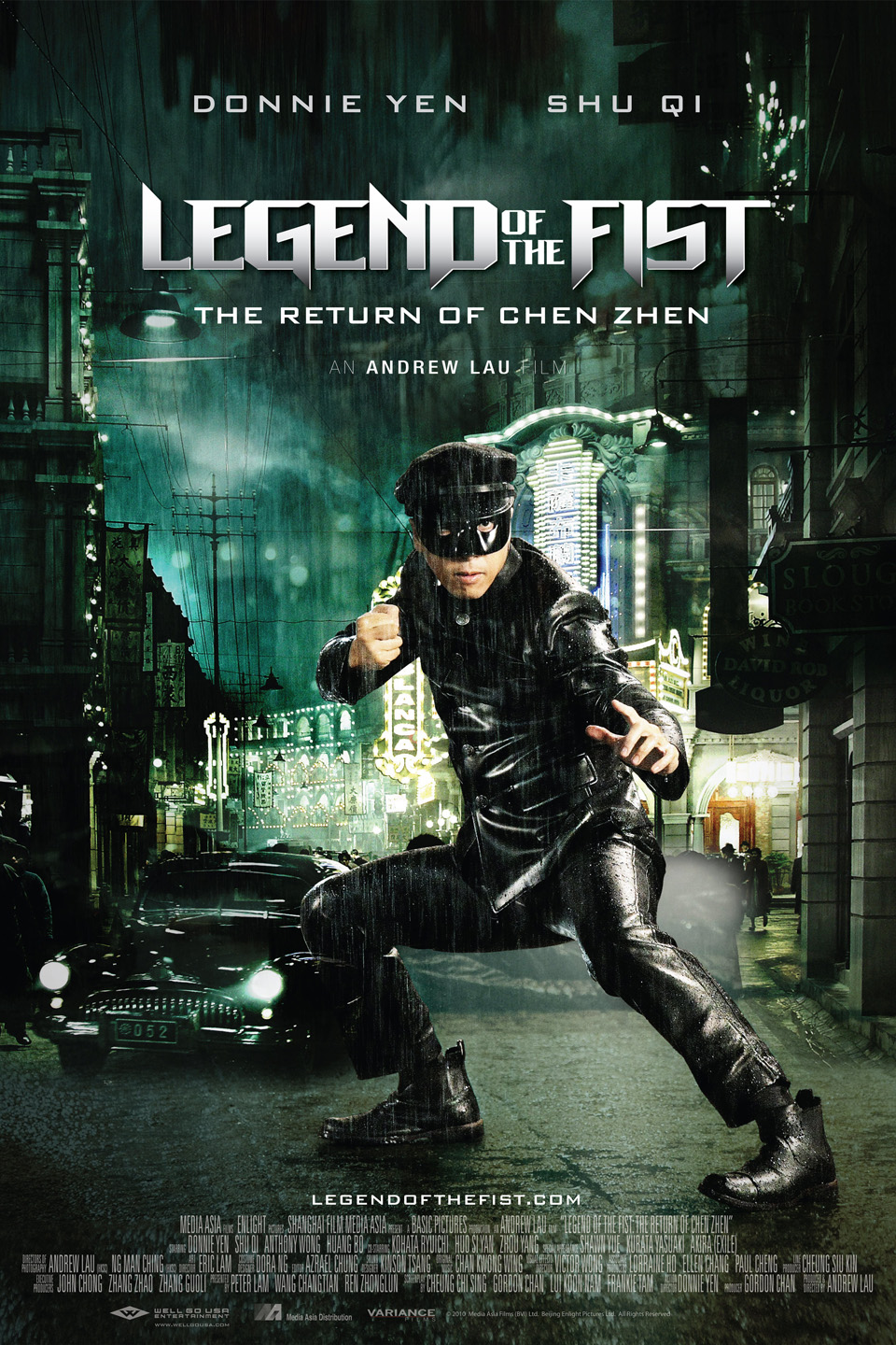 Legend of the Fist: The Return of Chen Zhen-Jing wu feng yun: Chen Zhen