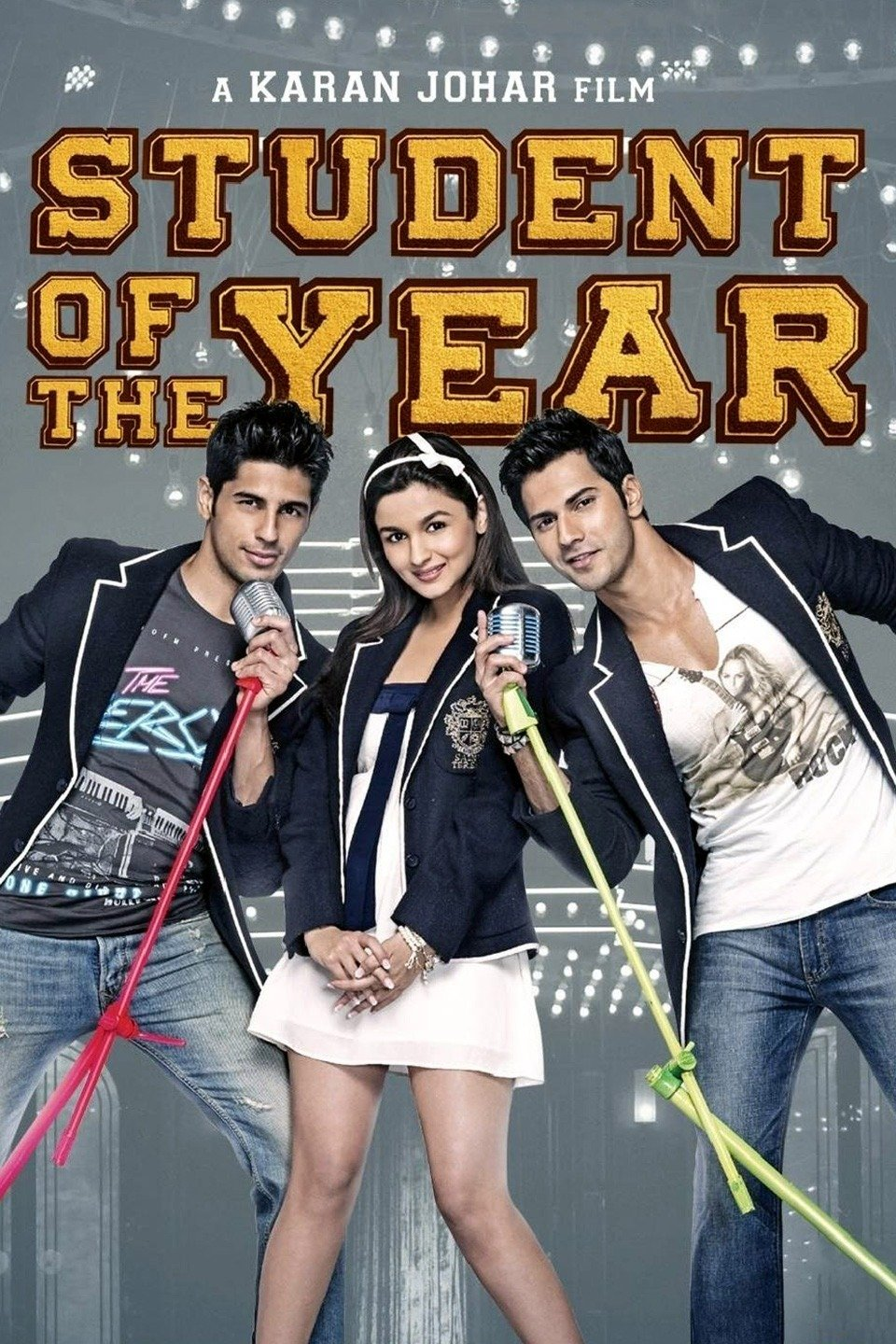 Student of the Year (2012) 720p Hindi Blu-Ray X264