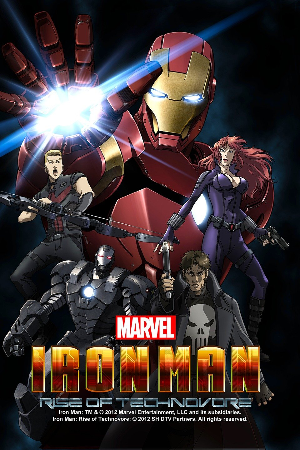 Iron Man: Rise of Technovore-Iron Man: Rise of Technovore