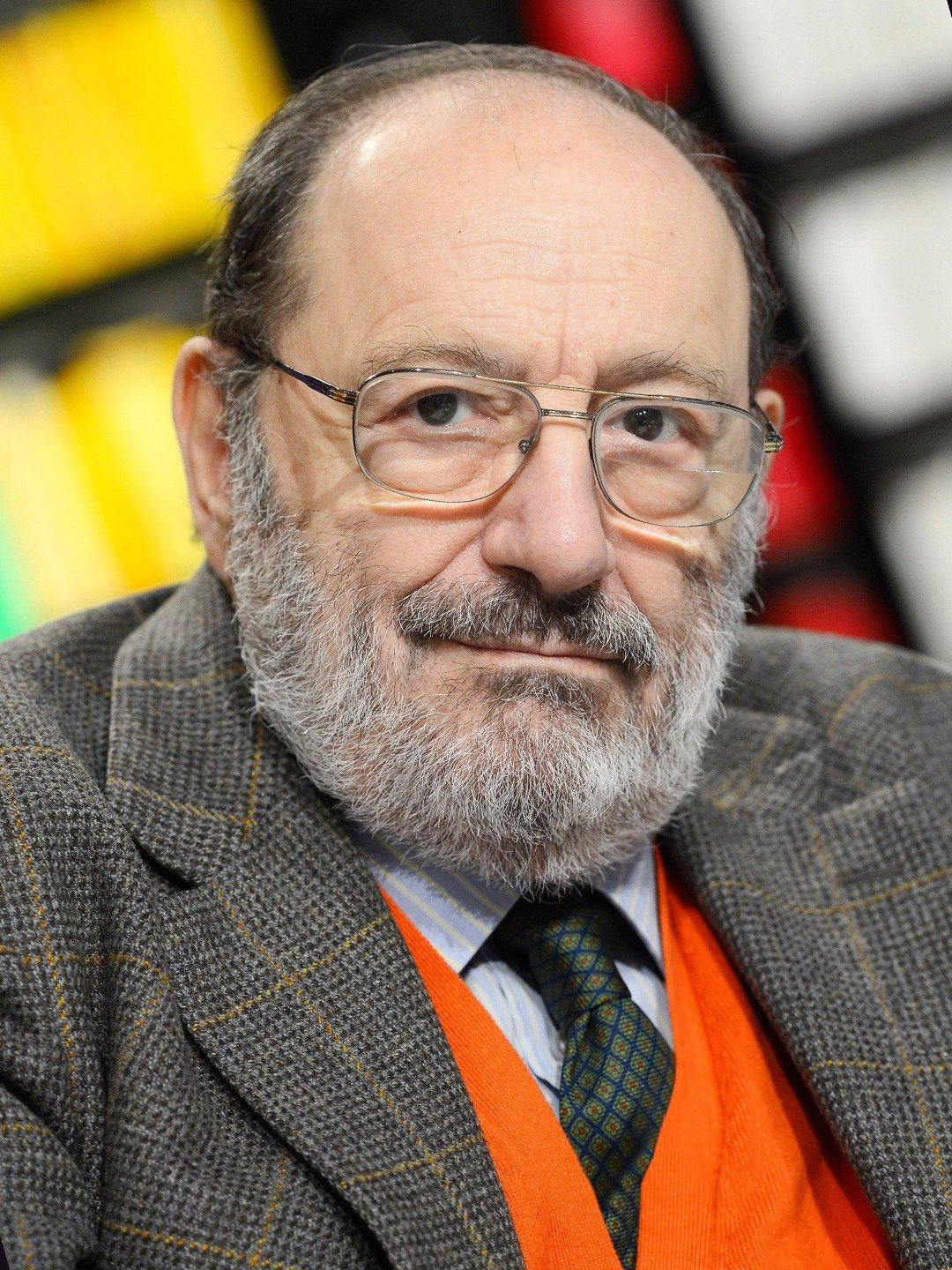 Photo of Italian Author Umberto Eco