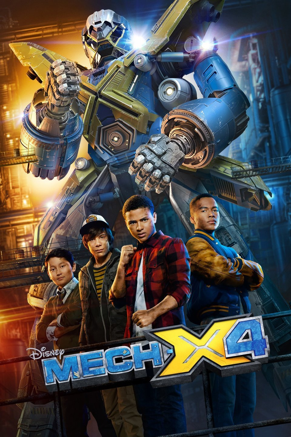 Mech-X4 Season 1 Complete Download 720p WEBRip