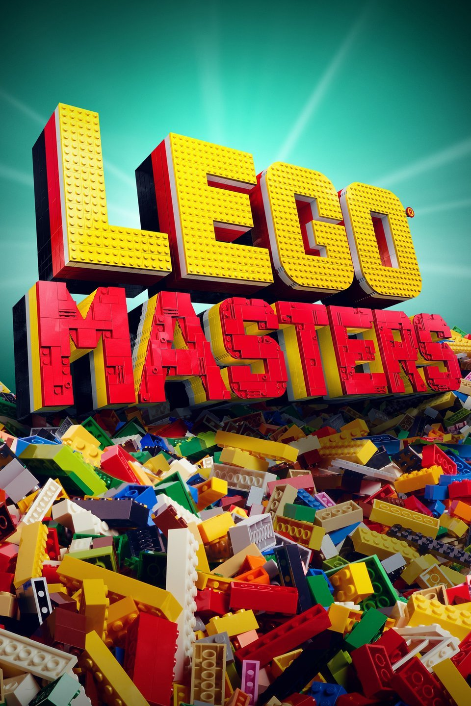 The main poster for Lego Masters