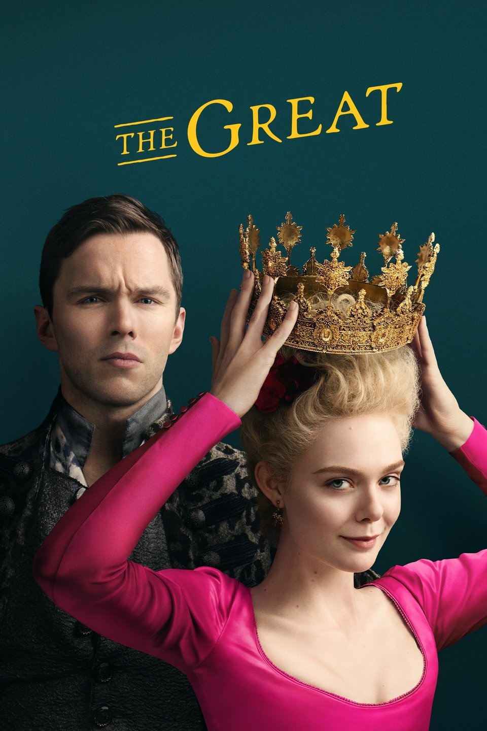 Promotional poster for THE GREAT.