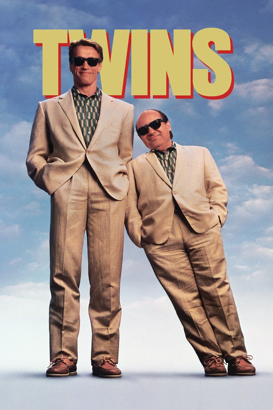 Twins Movie with  fraternal twins Julius (Arnold Schwarzenegger) and Vincent (Danny DeVito) are separated at birth.