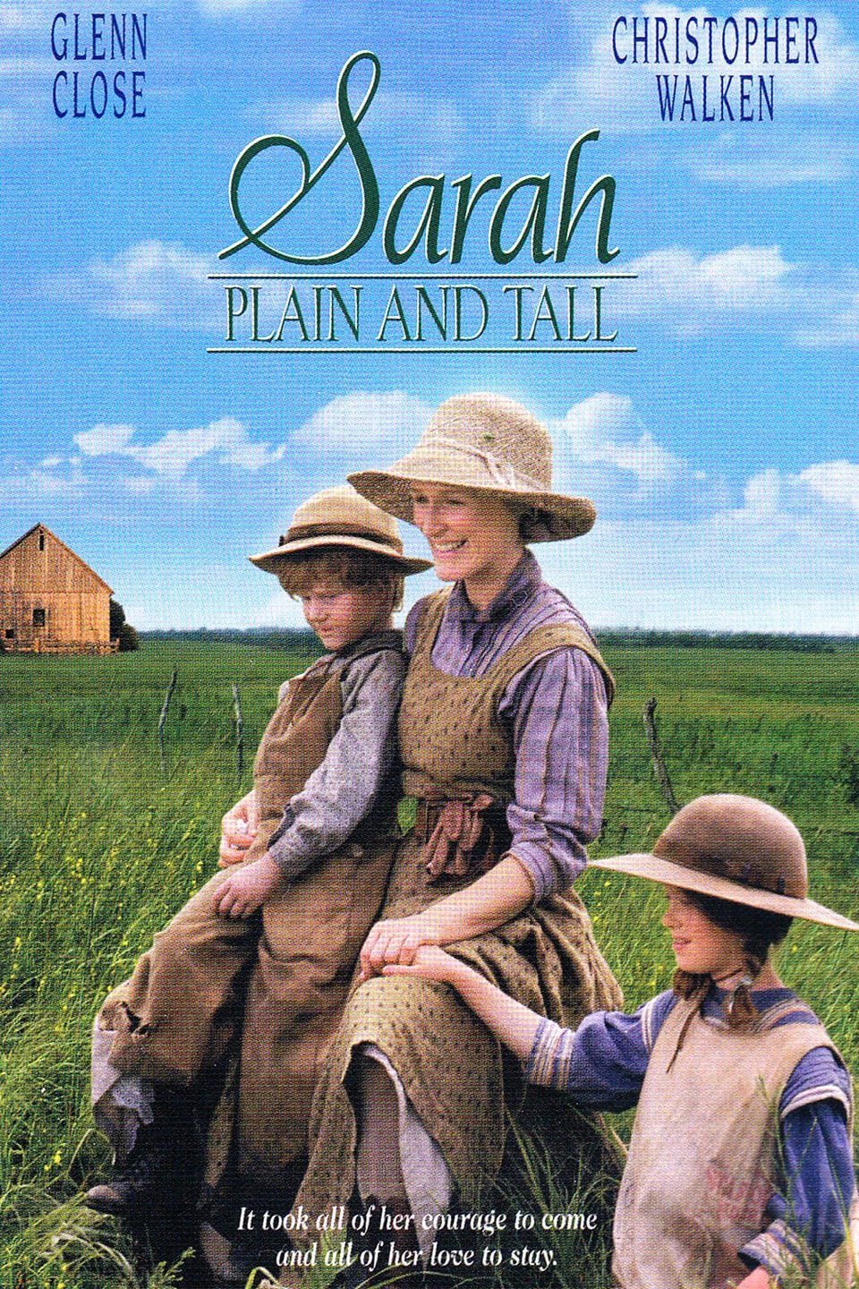 Image result for sarah plain and tall movie""