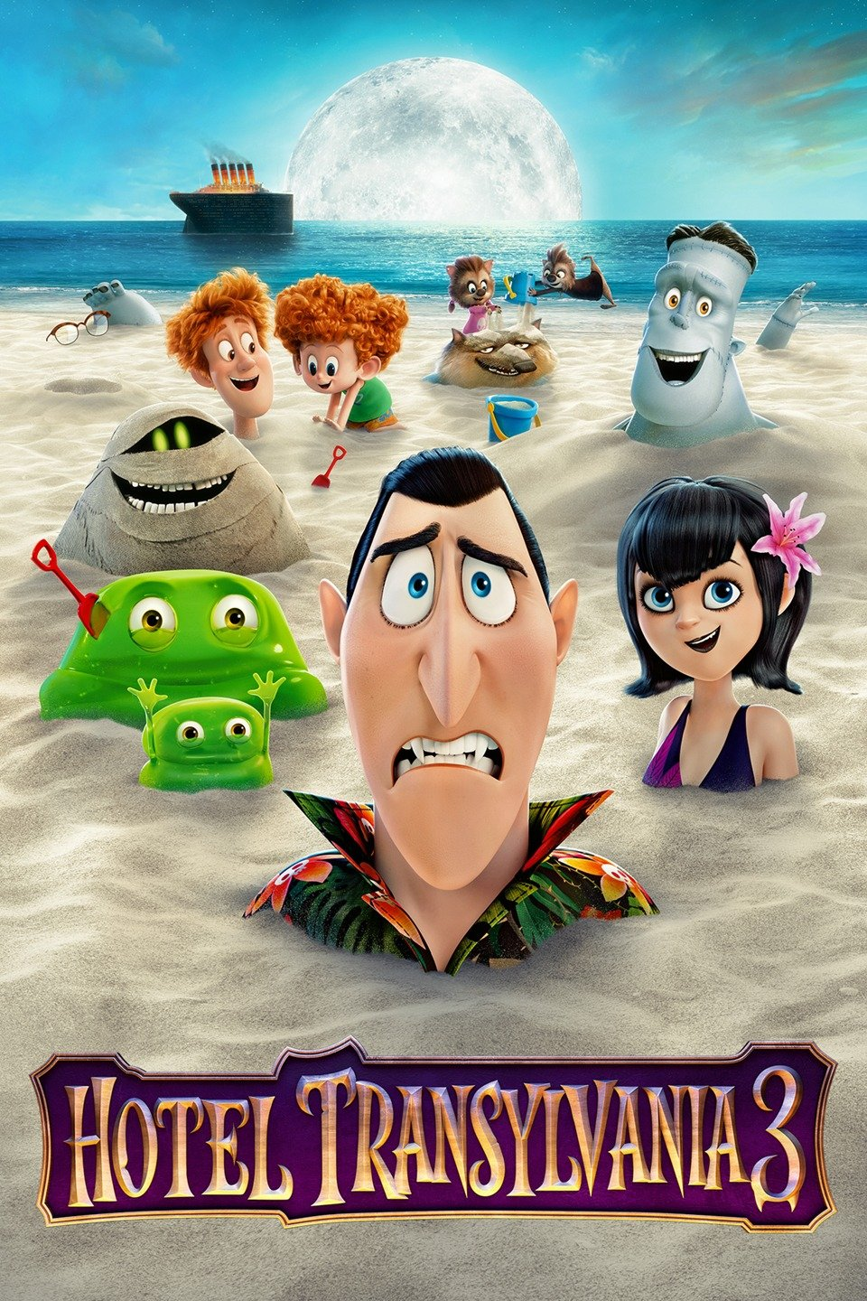 Hotel Transylvania 3 Summer Vacation 2018 Dual Audio In HDRip
