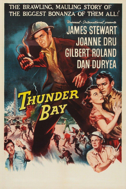 Classic Old Movie : Thunder Bay 1953